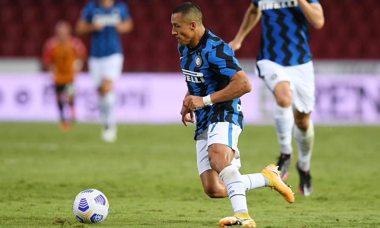 Sanchez Infortunio Inter