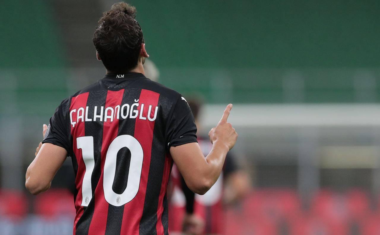 Calciomercato rinnovo Calhanoglu milan