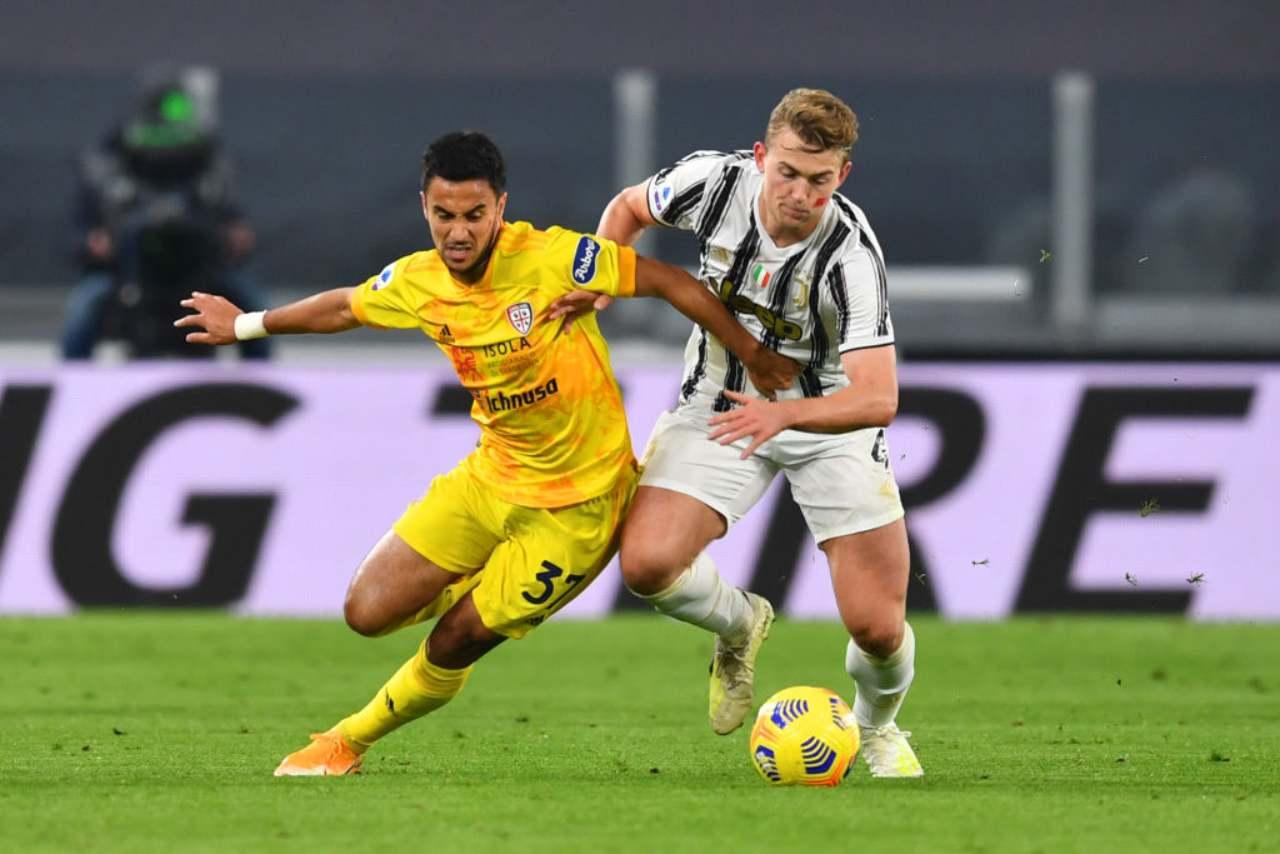 Calciomercato Juventus De Ligt Haaland