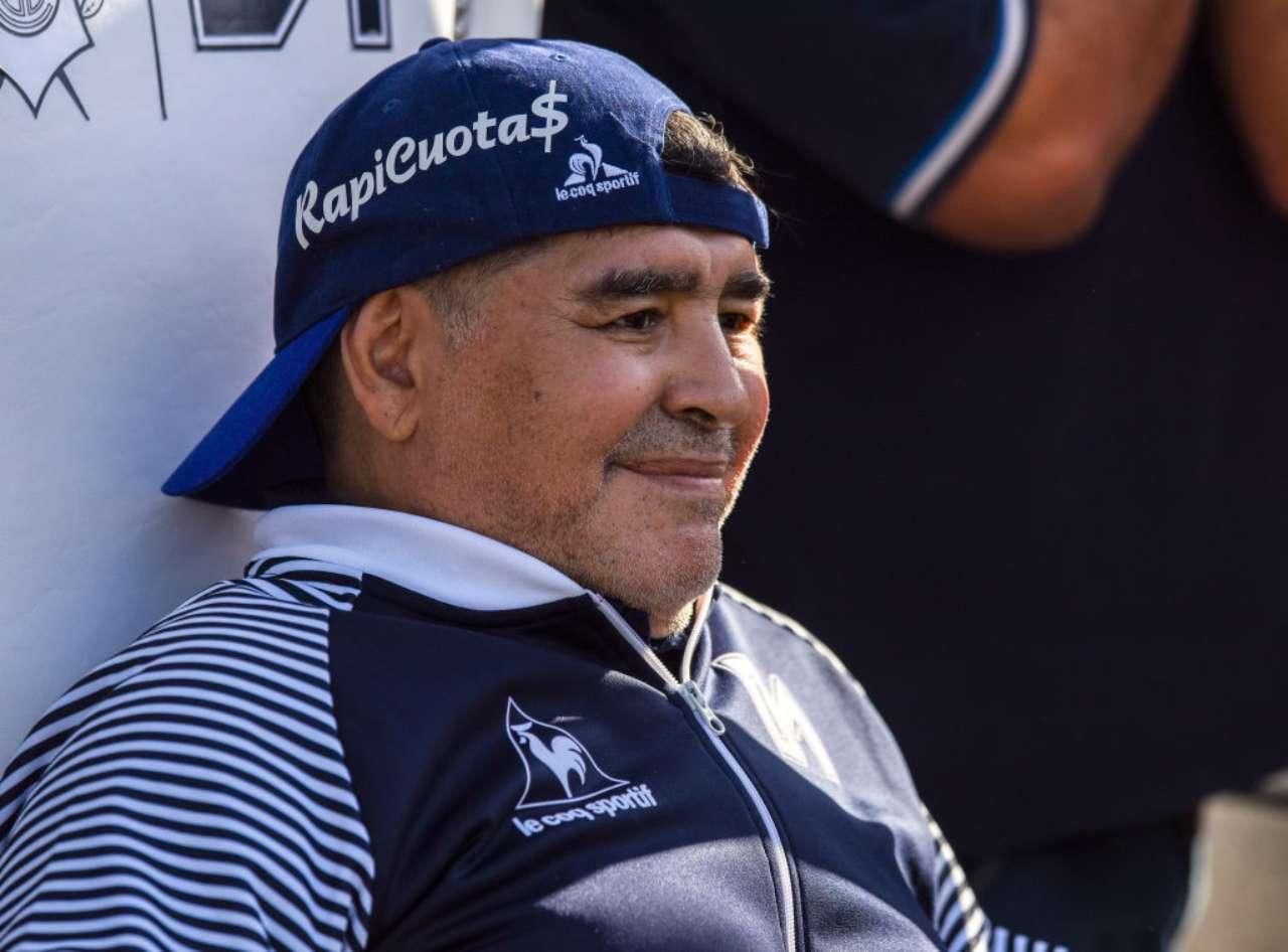 causa morte Maradona