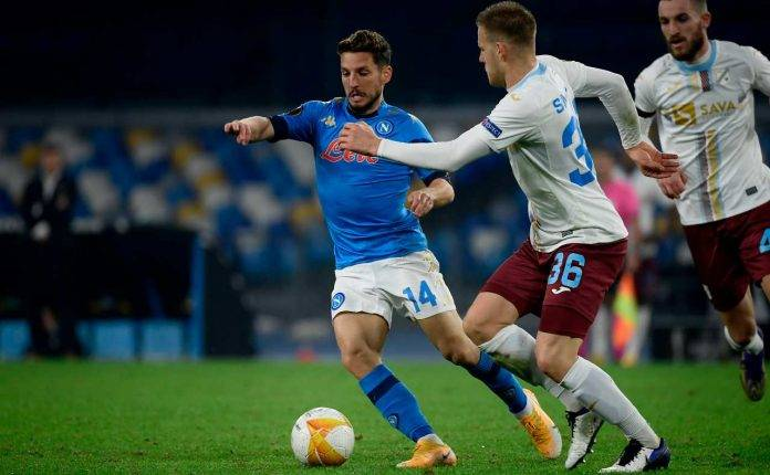 Napoli Dries Mertens