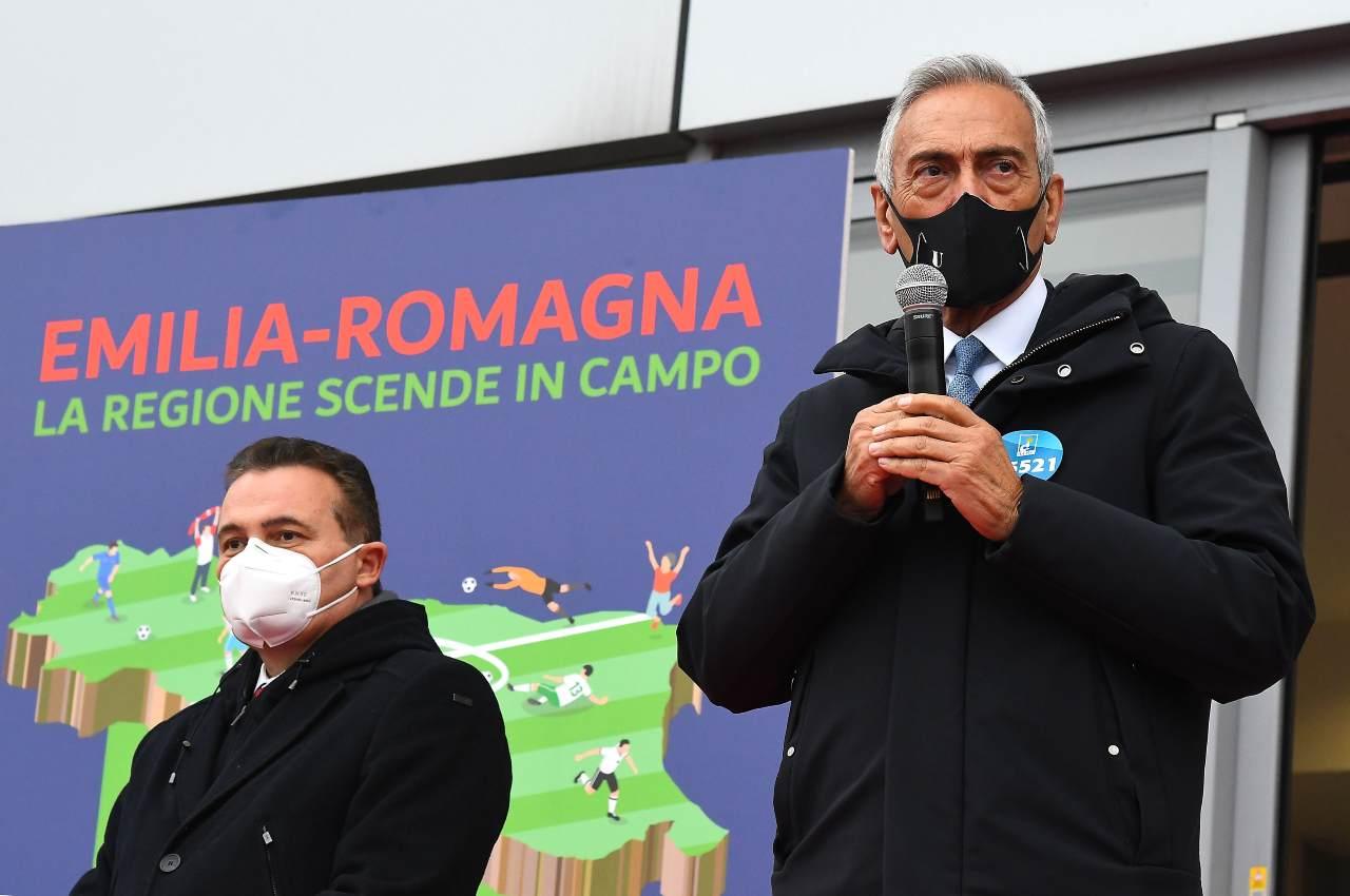 FIGC, l'annuncio di Gravina