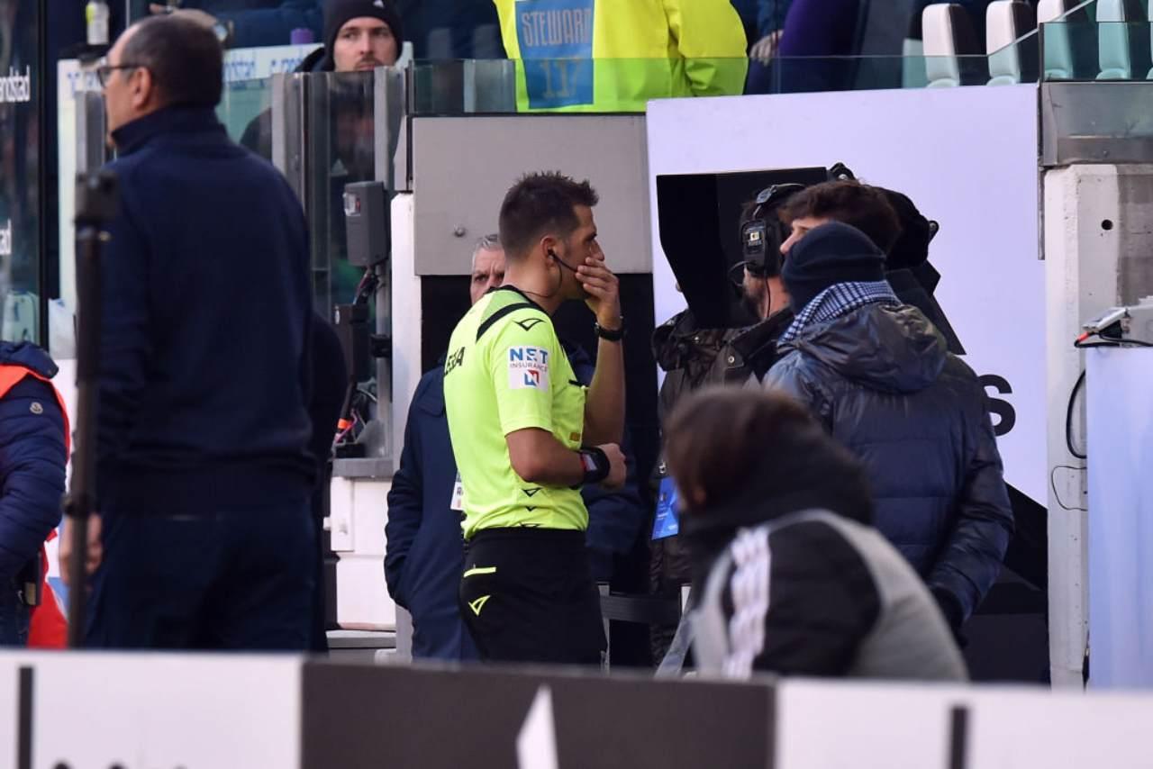 Benevento Juventus moviola rigore