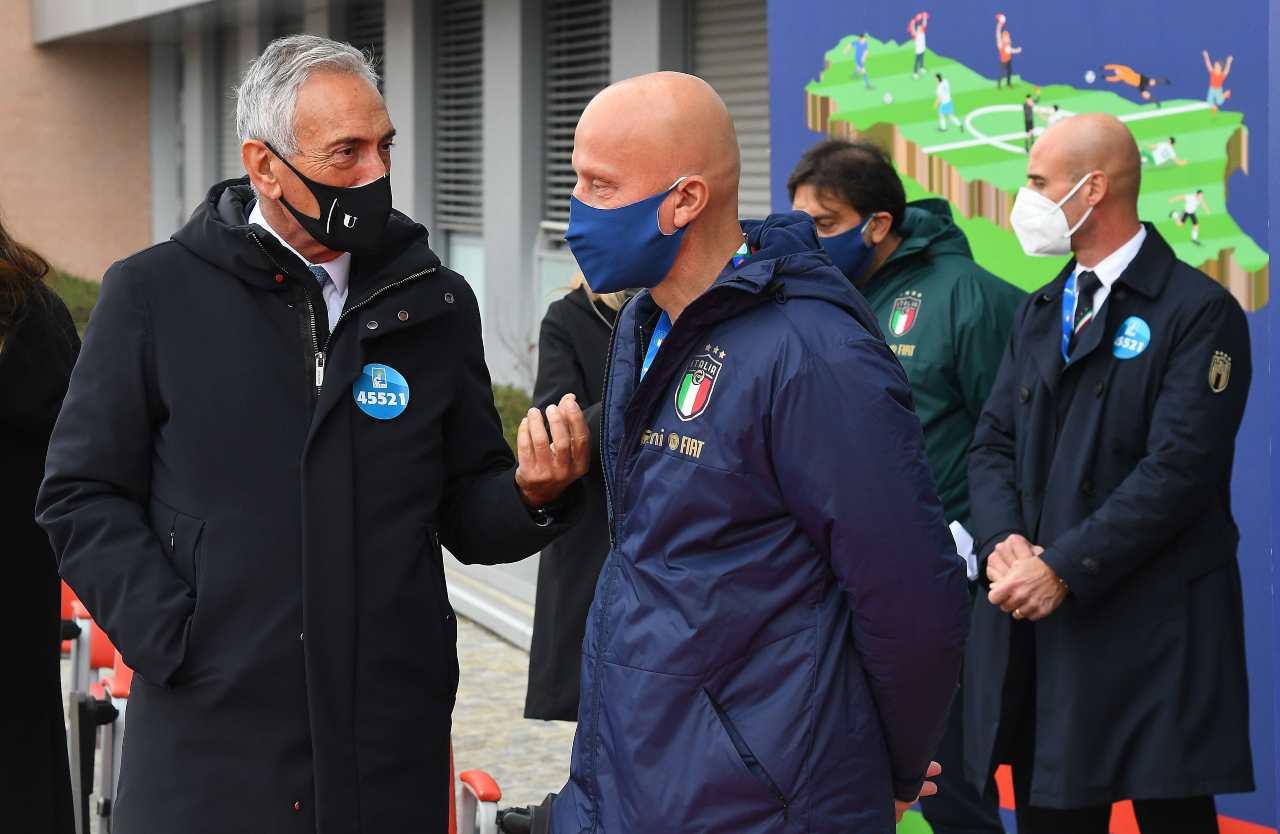 FIGC, Gravina e Vialli
