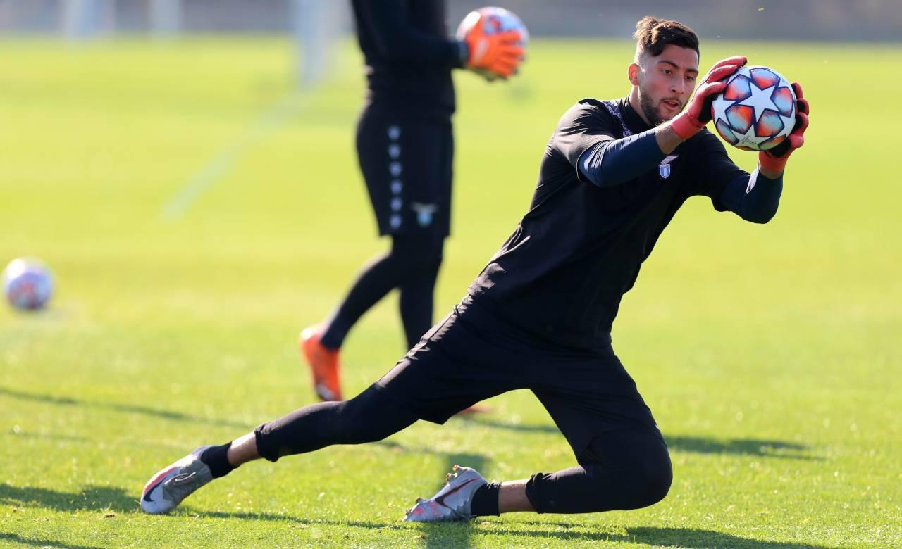 Lazio infortunio Strakosha