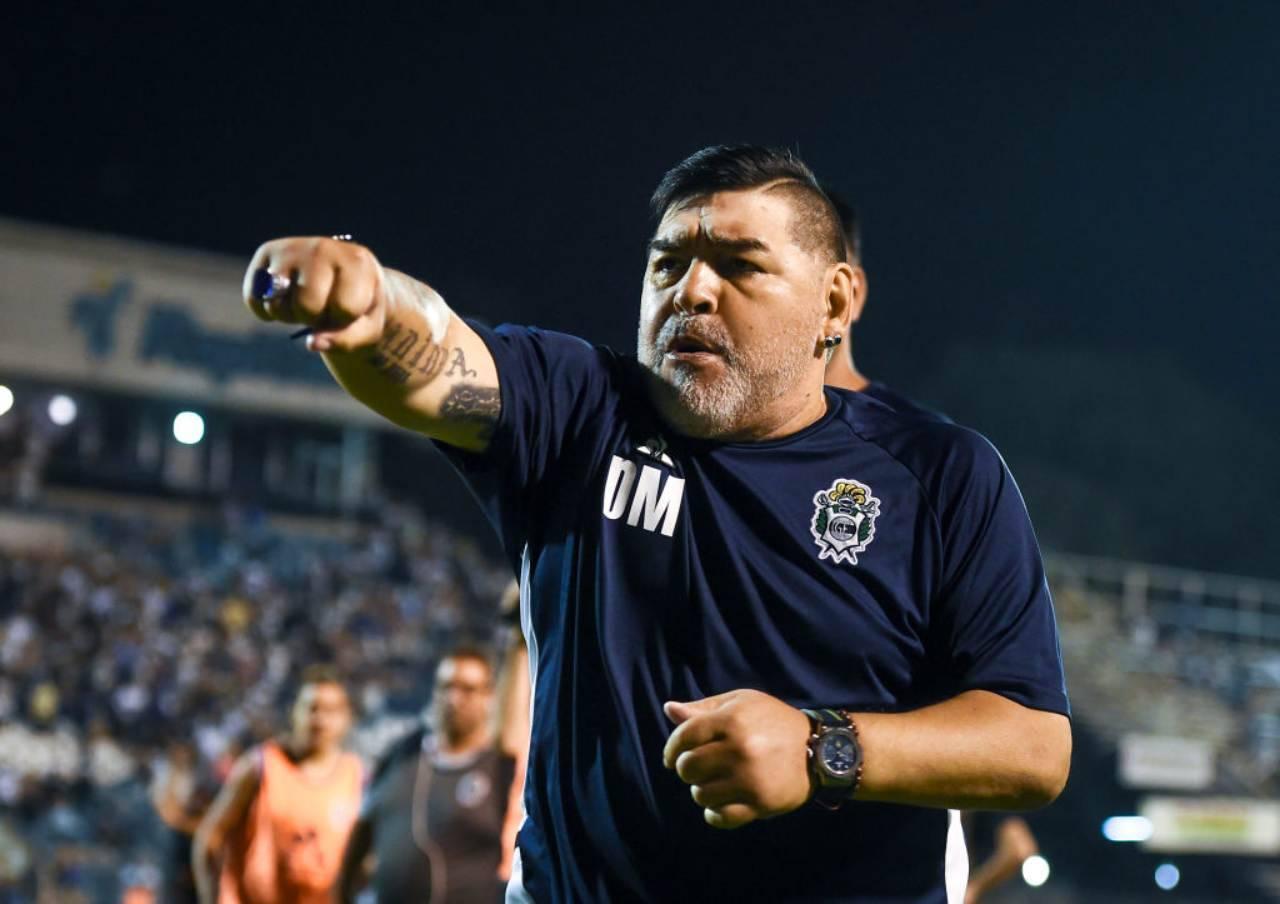 Maradona messaggio Mertens