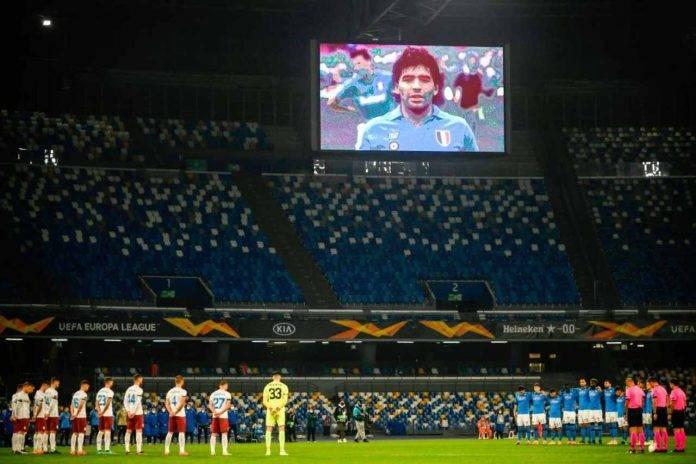 Morte Maradona Serie A