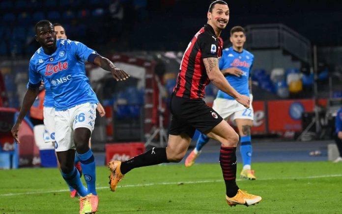 Napoli Milan Ibrahimovic