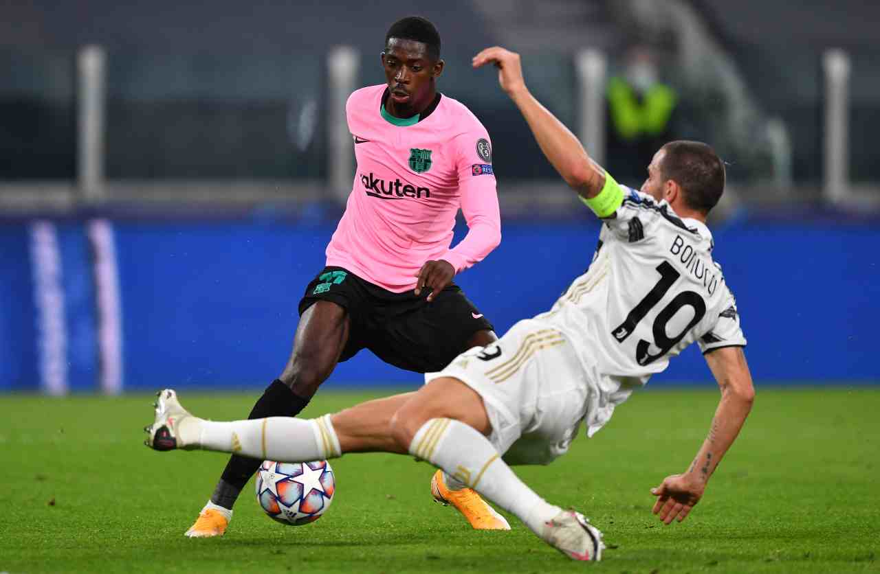 Mercato Juventus: Dembele