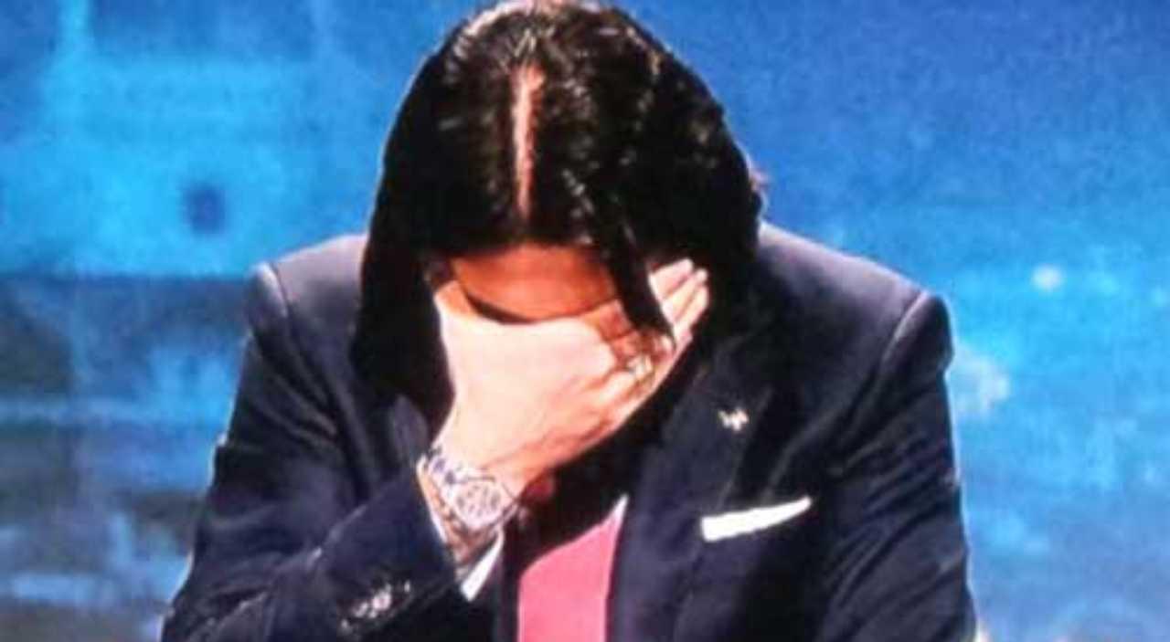 Morte Maradona Adani piange