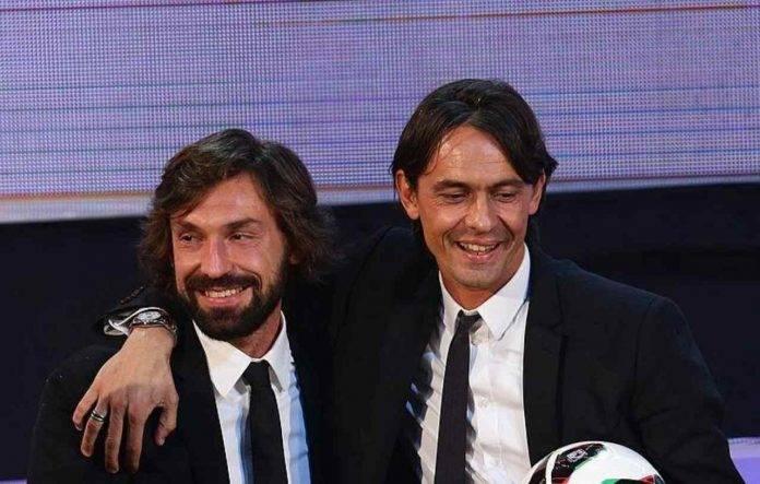 Juventus, Del Piero al posto di Pirlo