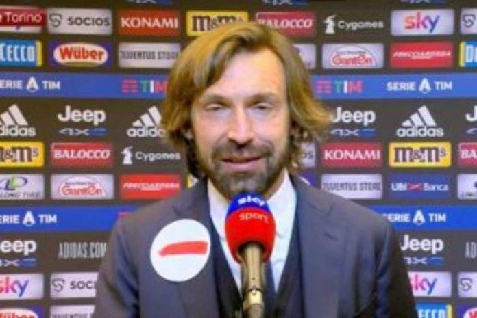 Juventus intervista Pirlo