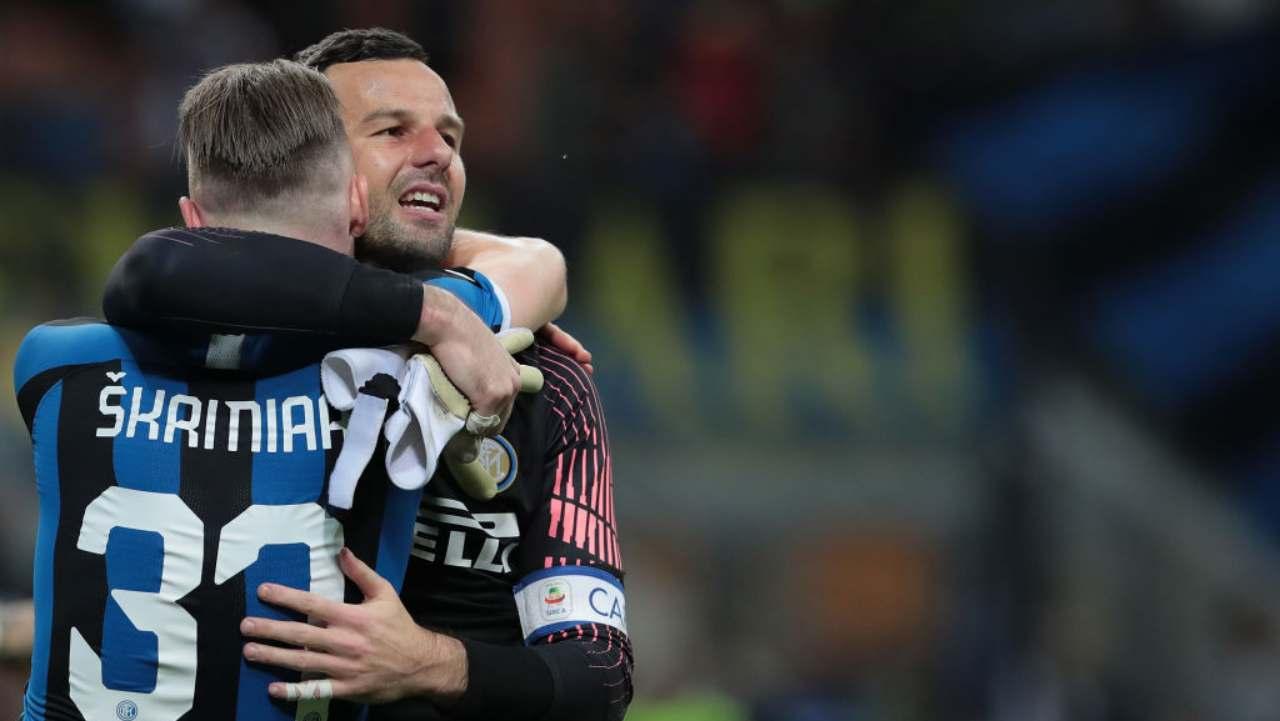 Skriniar Inter Handanovic