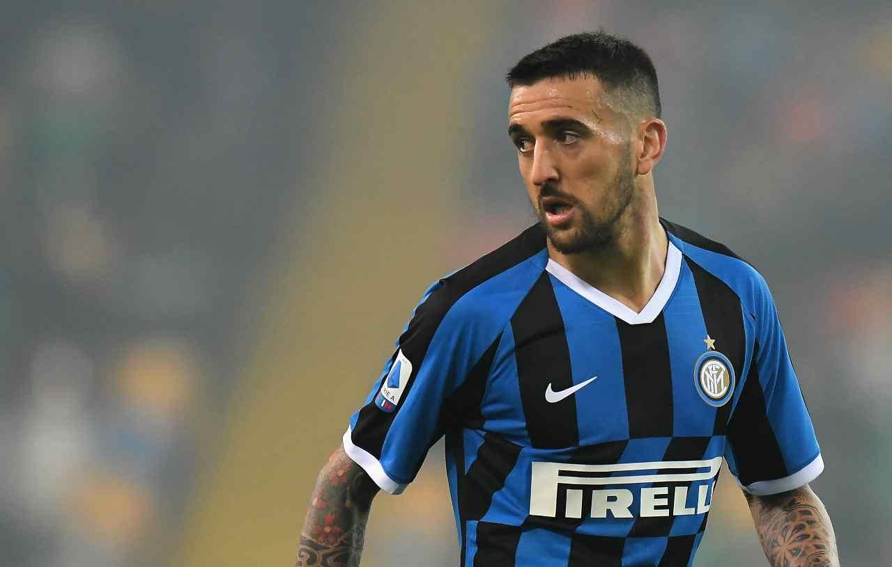 Calciomercato Inter: addio Vecino