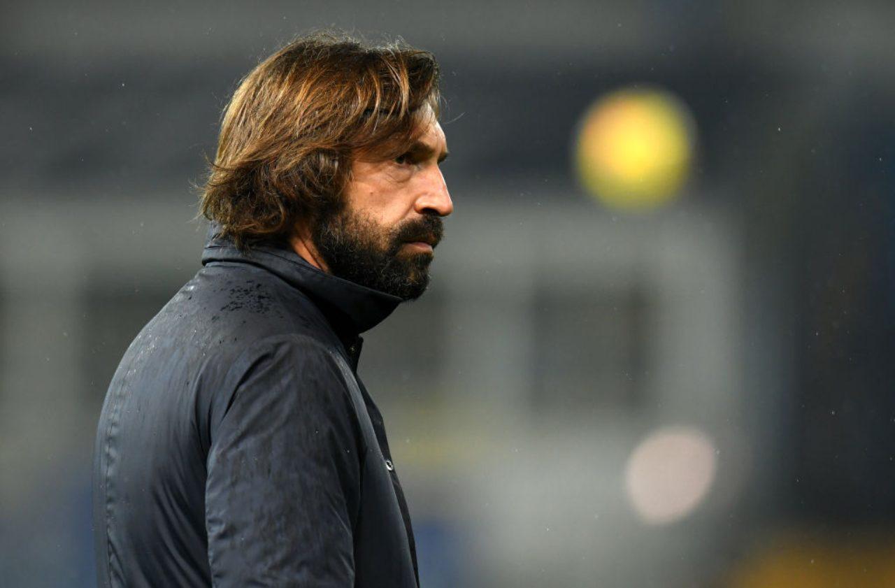 Esonero Andrea Pirlo Juventus
