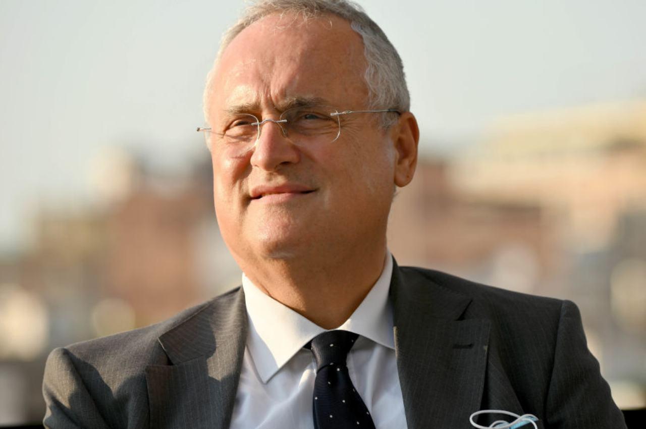 Claudio Lotito infuriato