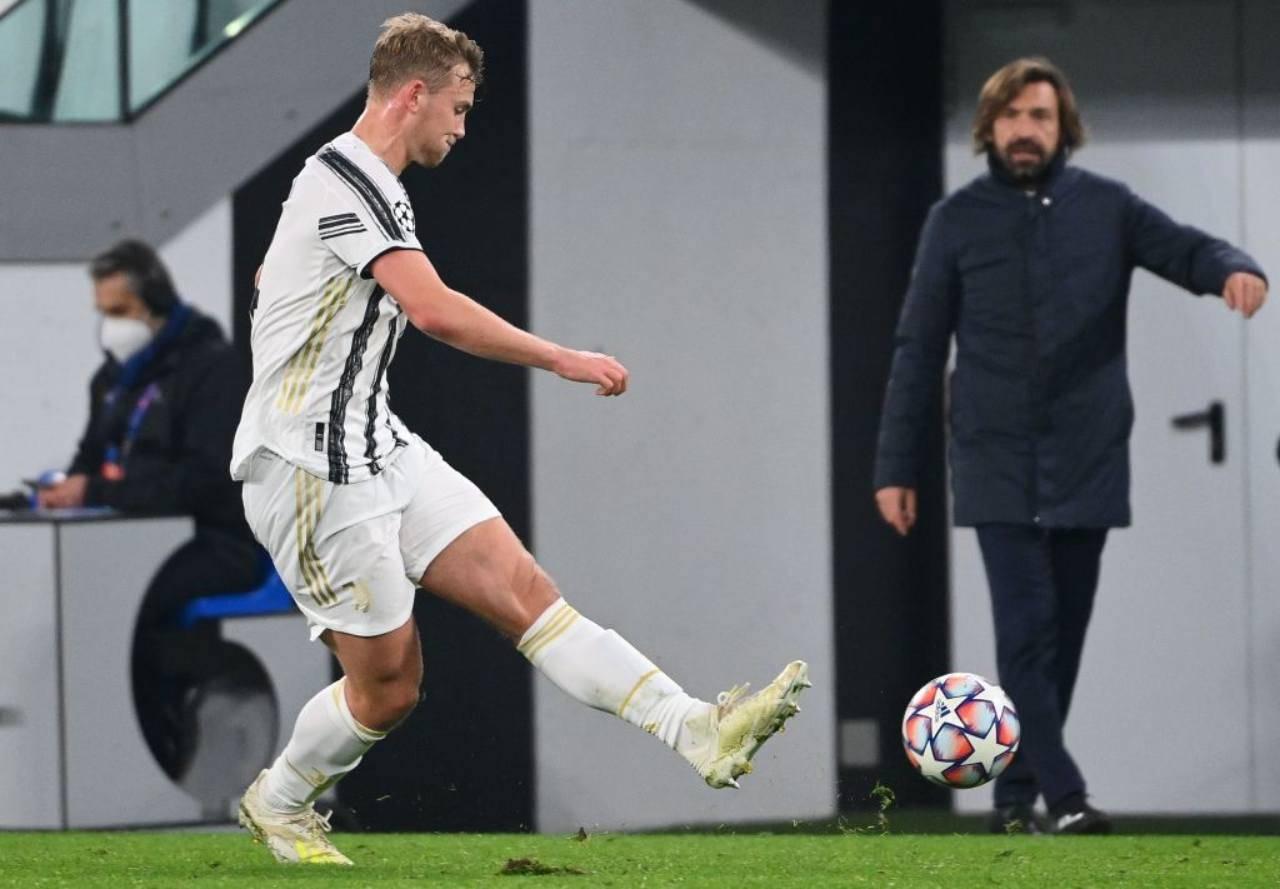 Juventus Pirlo De Ligt