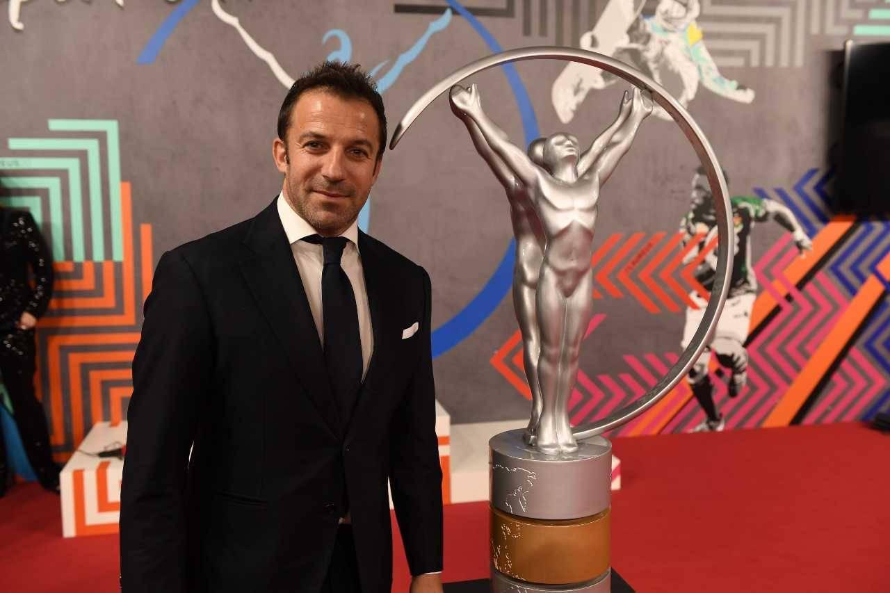 Trezeguet e Del Piero