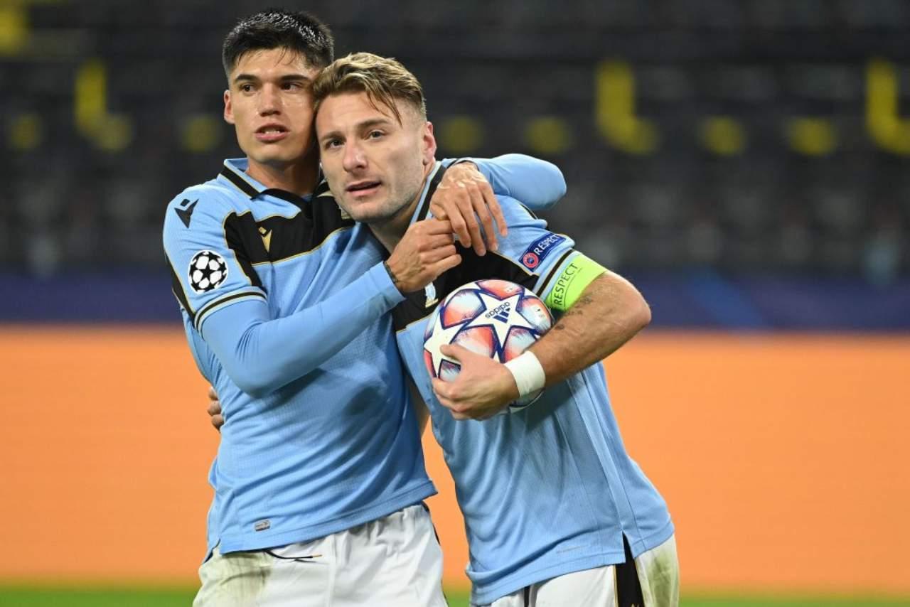 Lazio infortunio Immobile