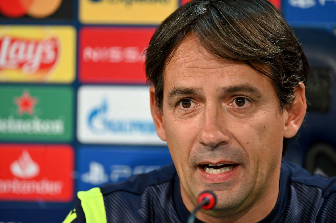 Simone Inzaghi in conferenza stampa