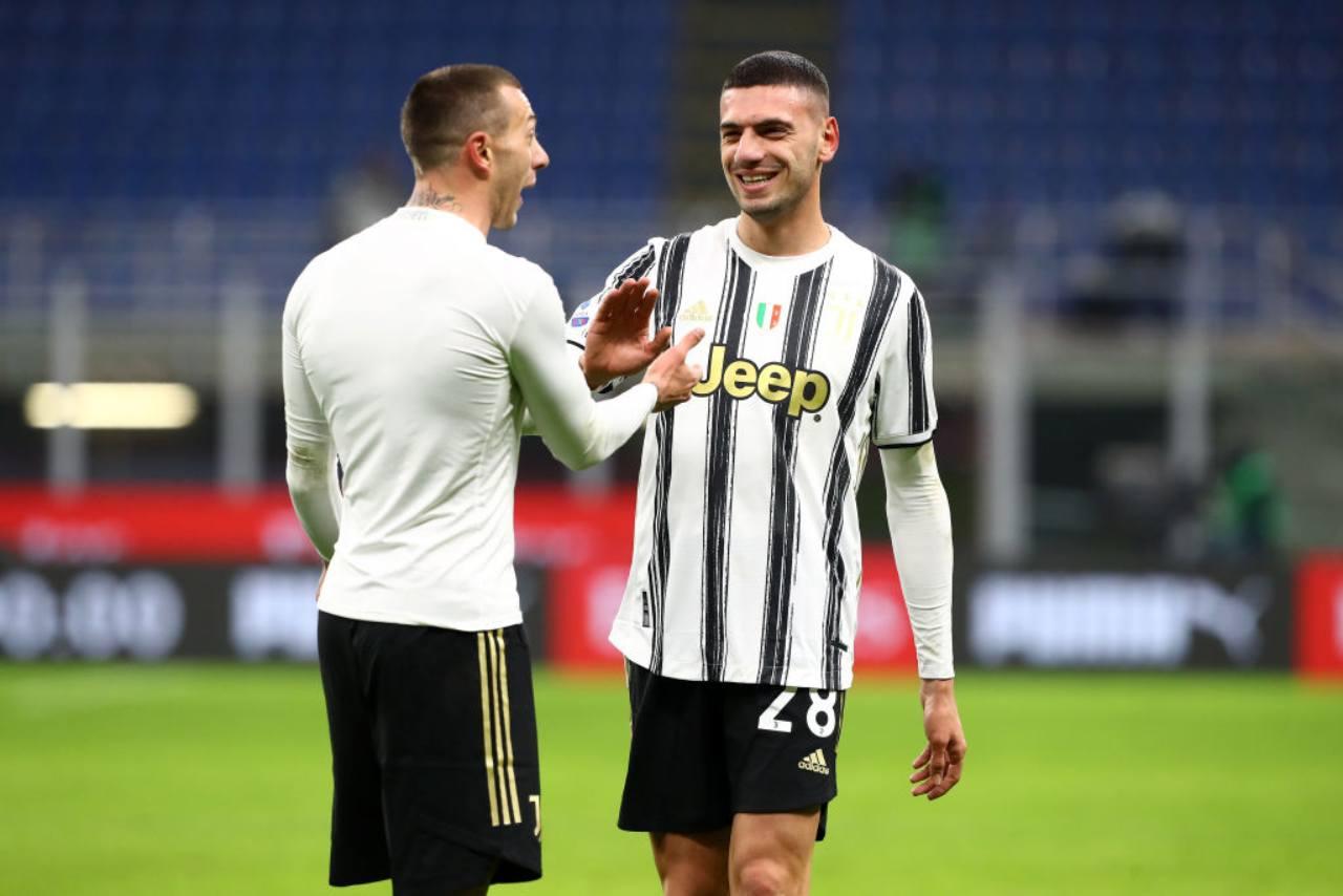 Juventus infortunio Demiral