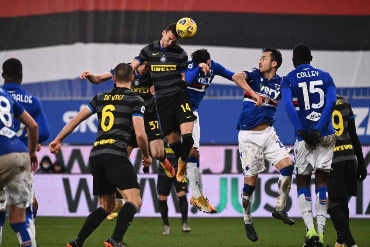 sampdoria inter ultime