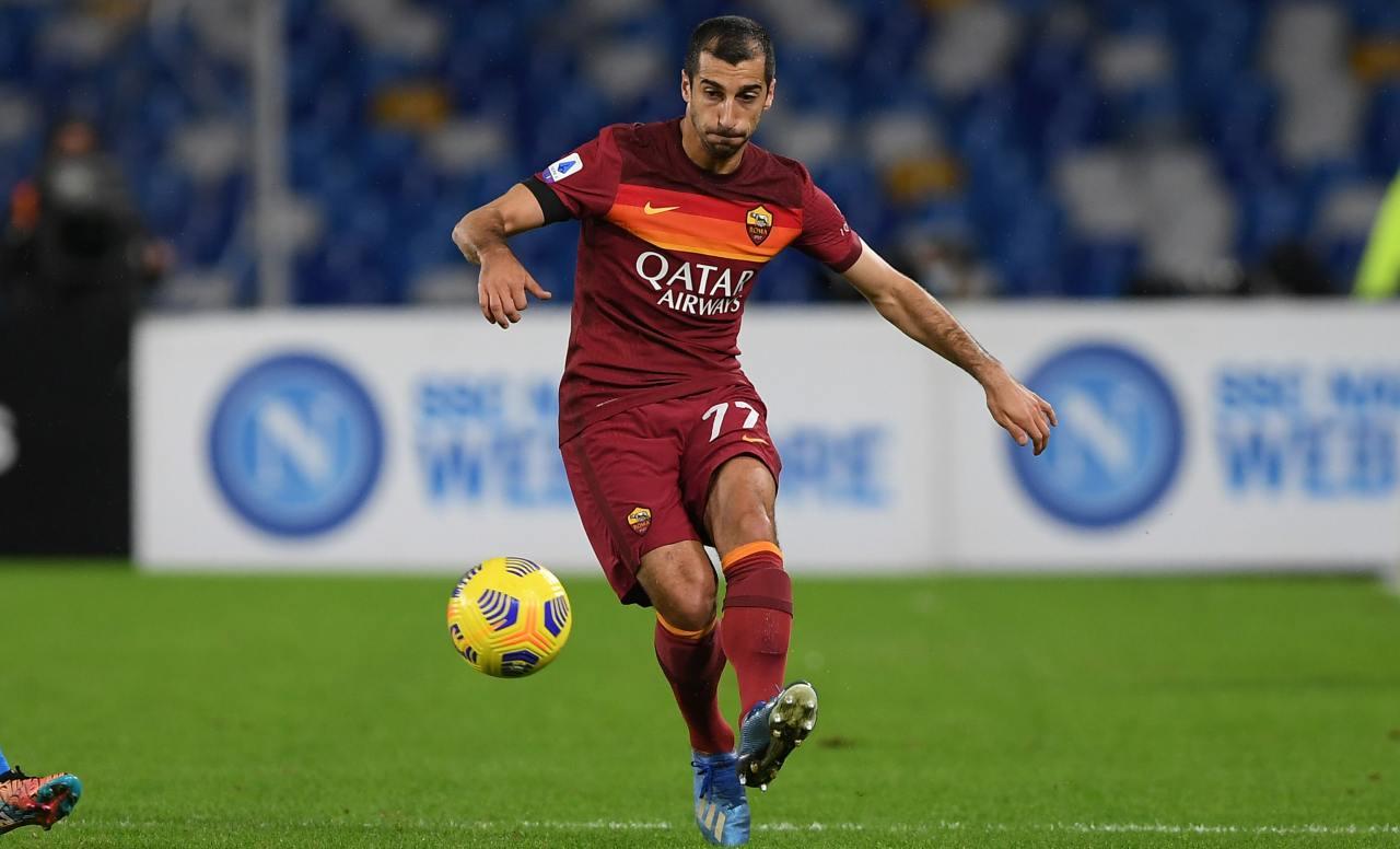 roma calcio Mkhitaryan