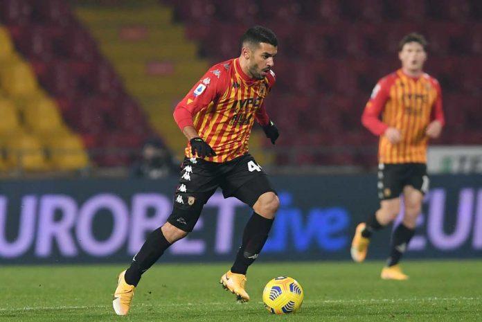 Benevento infortunio Iago Falque
