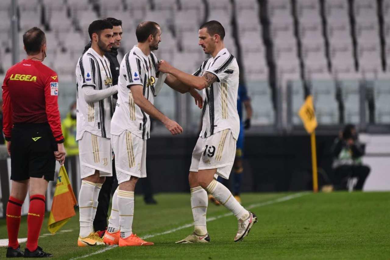 Calciomercato Juventus, l'erede di Chiellini