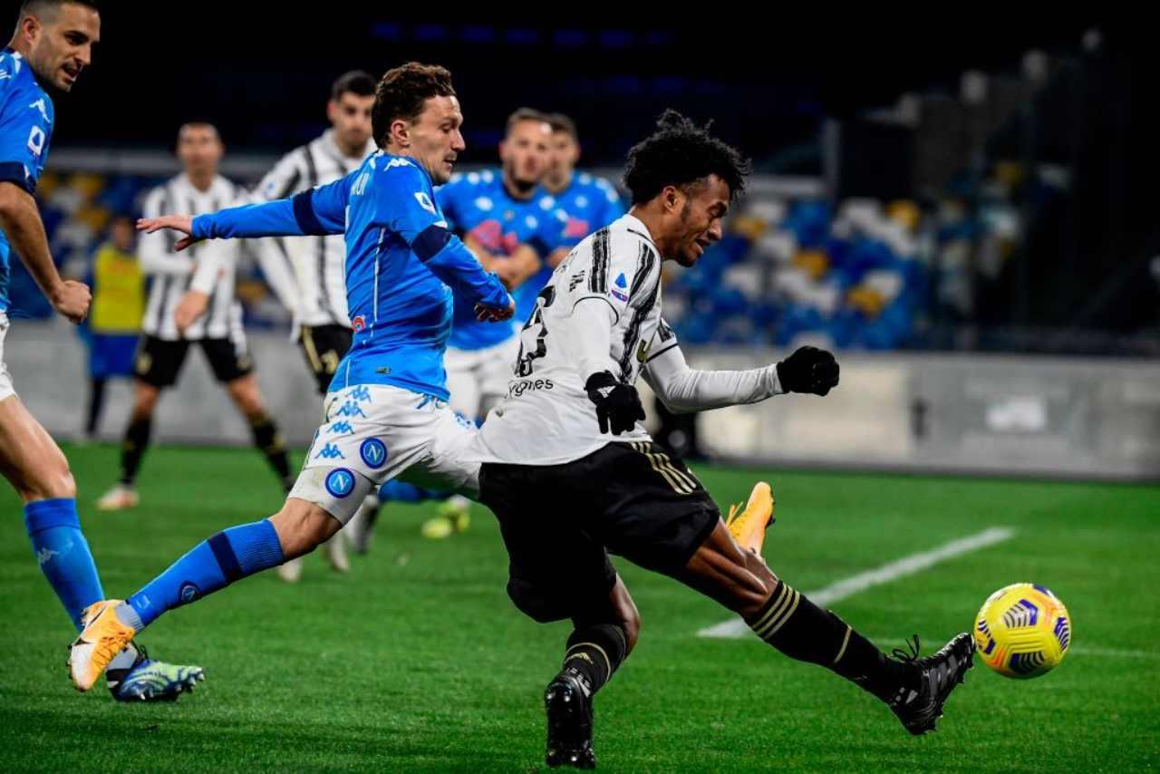 Juventus infortunio Cuadrado