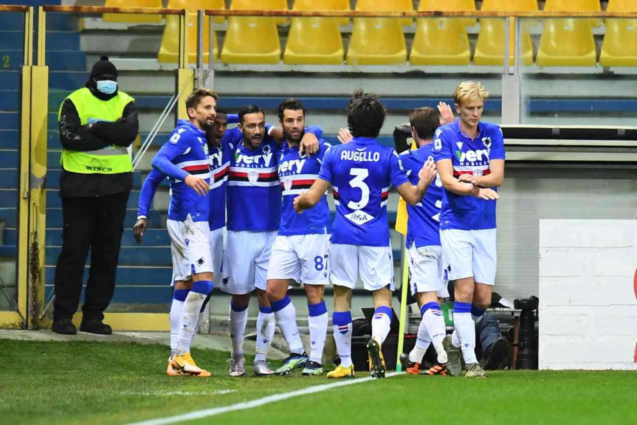Sampdoria Cagliari