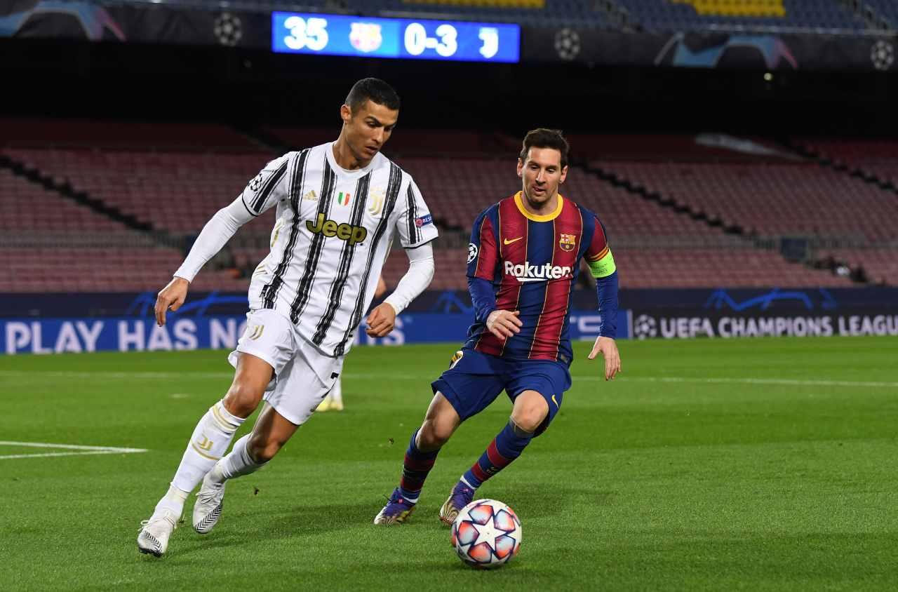 Ronaldo Messi MLS