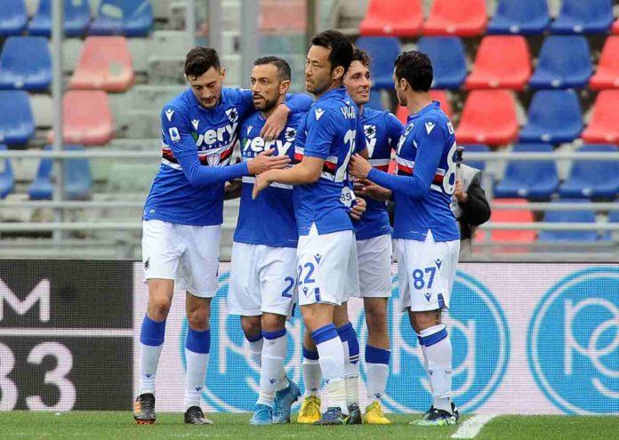Sampdoria infortunio Yoshida
