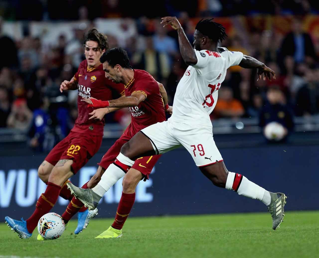 Calciomercato Roma Pastore