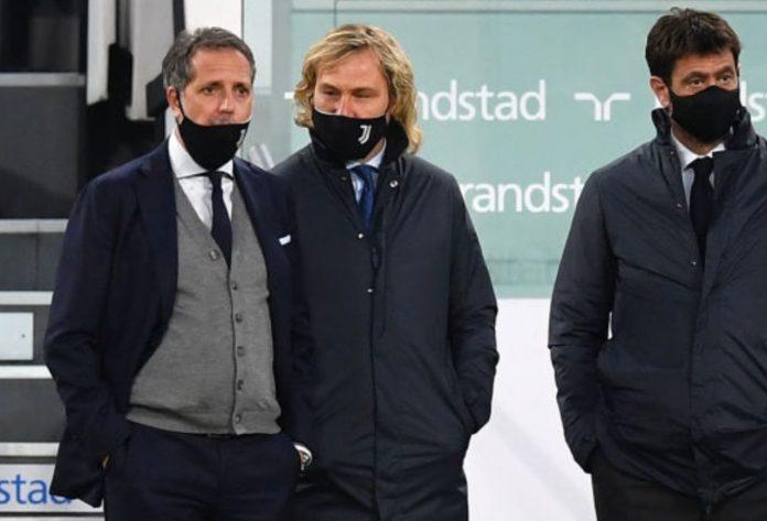 Paratici Nedved Agnelli Juventus