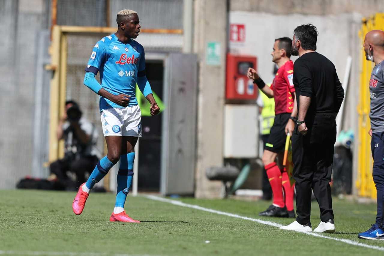 Napoli Osimhen Gattuso