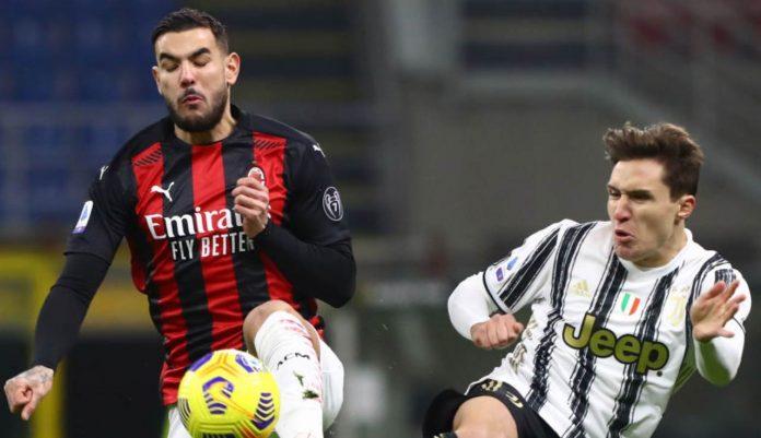 Milan Juventus Hernandez Chiesa